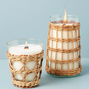 WYC Designs - SHOP - Rattan Candle