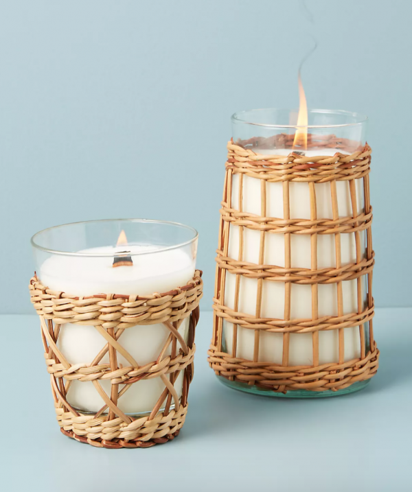 WYC Designs - SHOP - Rattan Candle